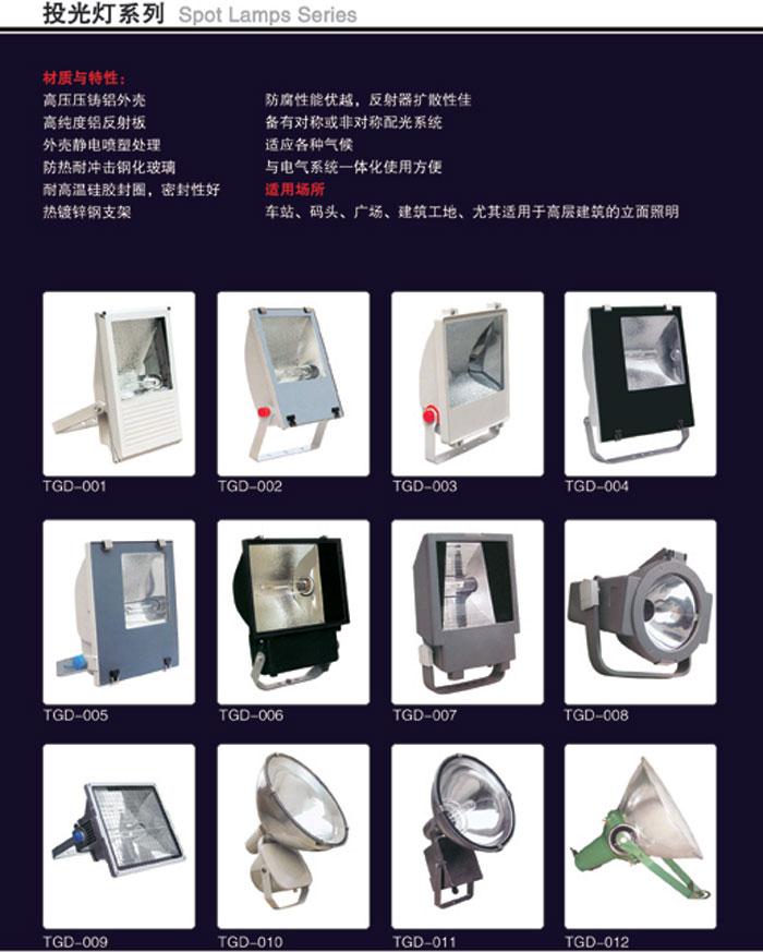 LED投光灯系列TGD001-012