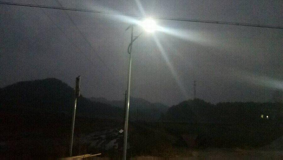 【工程案例】:浙江江山—180套6米新农村太阳能路灯