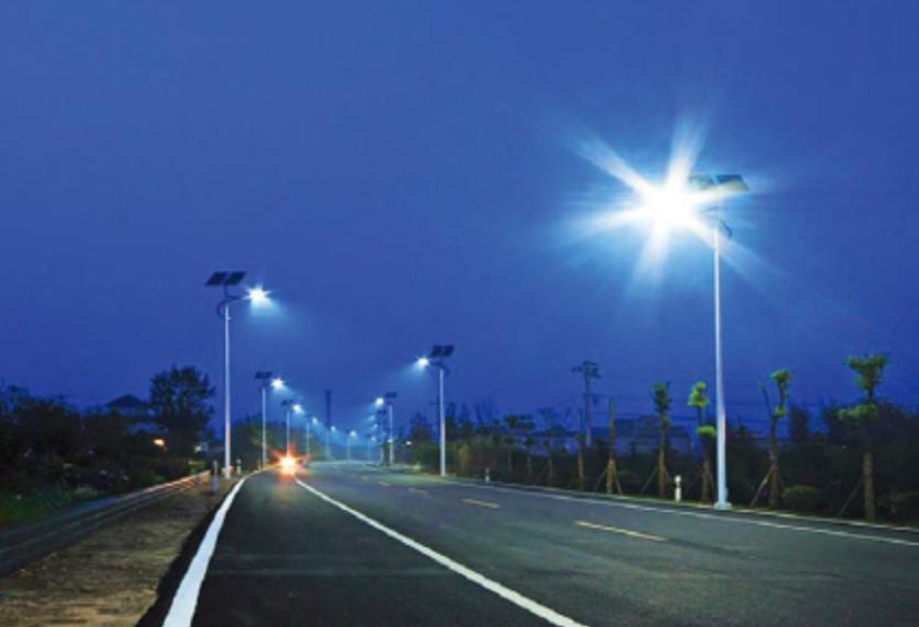【工程案例】:上海太仓—120套6.5米太阳能路灯