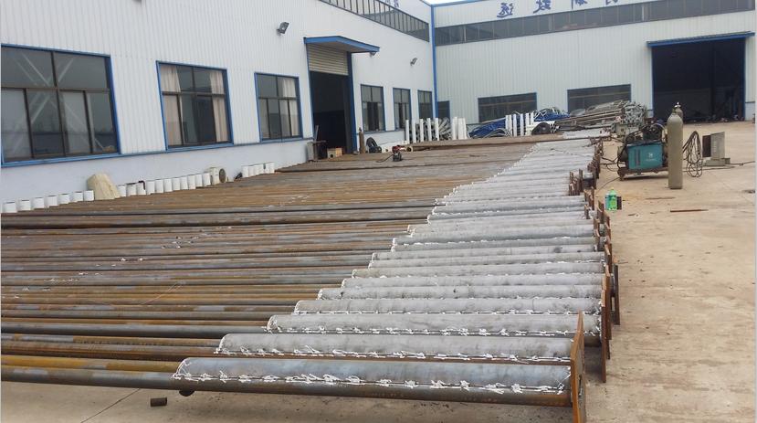 【工程案例】:贵州六盘水—362套10米双联杆市电路灯
